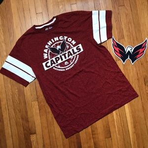Men's L Washington Capitals nhl shirt in red